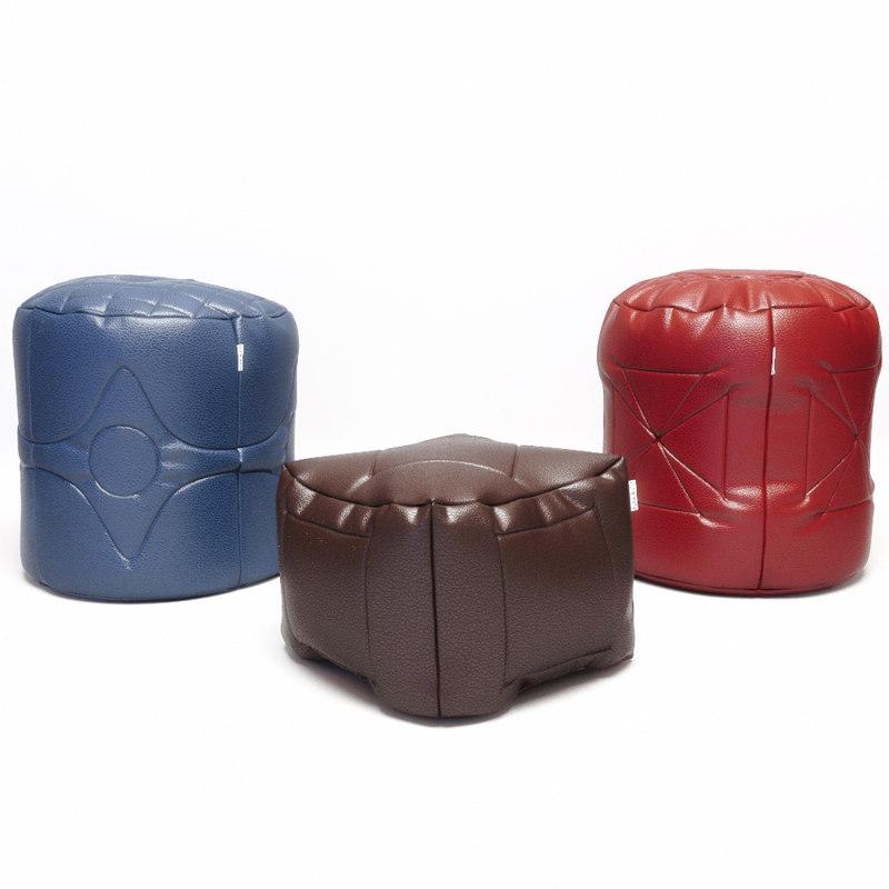 3d poufs