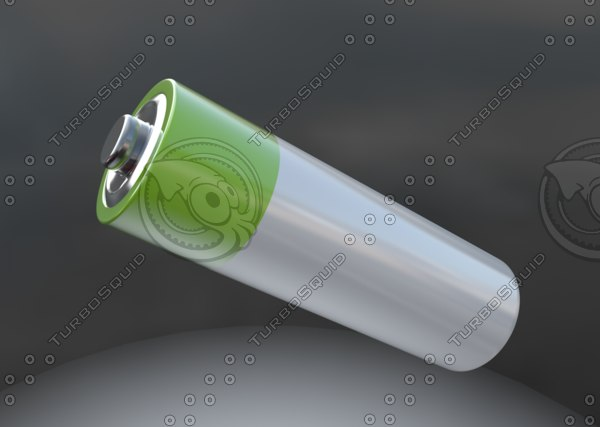 3d model battery cell