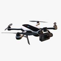 c4d gopro karma drone