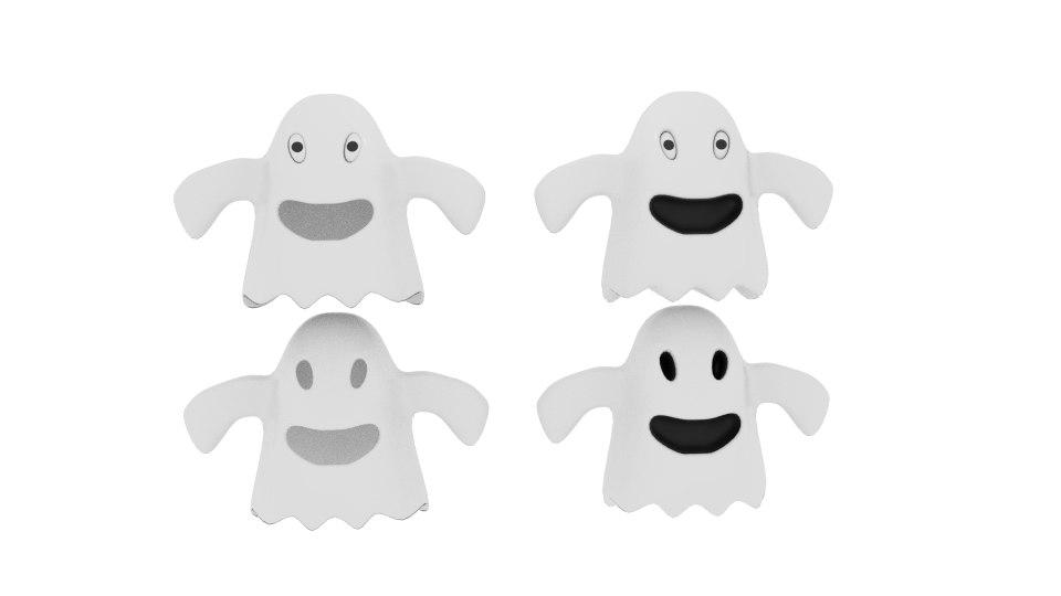cartoon fabric ghost 3d 3ds