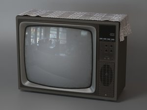 obj old tv