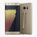 Samsung Galaxy note 7 3D models