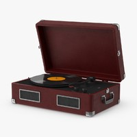 3d max record player