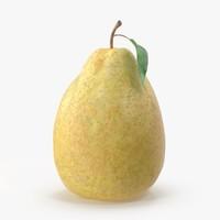 3d model pear 06