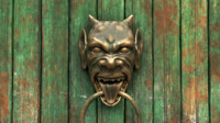 3d model of door knocker