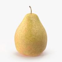 3d model pear using