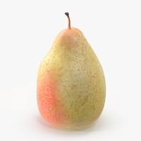 3d pear using