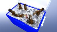3d ice cooler