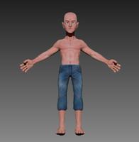 anatomical model boy