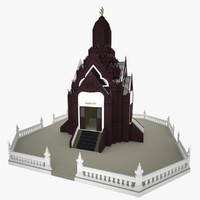 Low poly Church in China