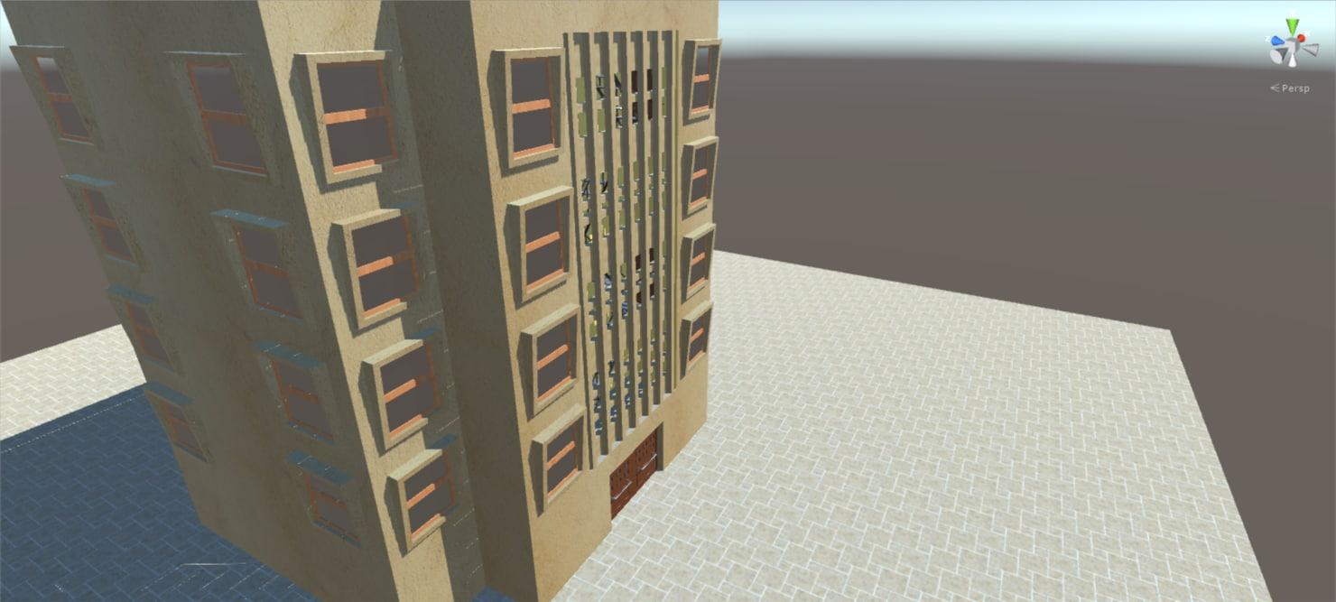 blend highpoly build