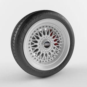 bbs wheel 3d max