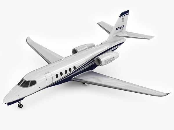 3d cessna citation latitude