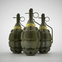 hand grenade world war max