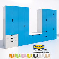 3d ikea stuva cabinets