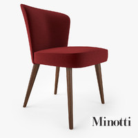 obj minotti aston dining chair