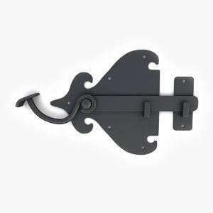 vintage door lock max