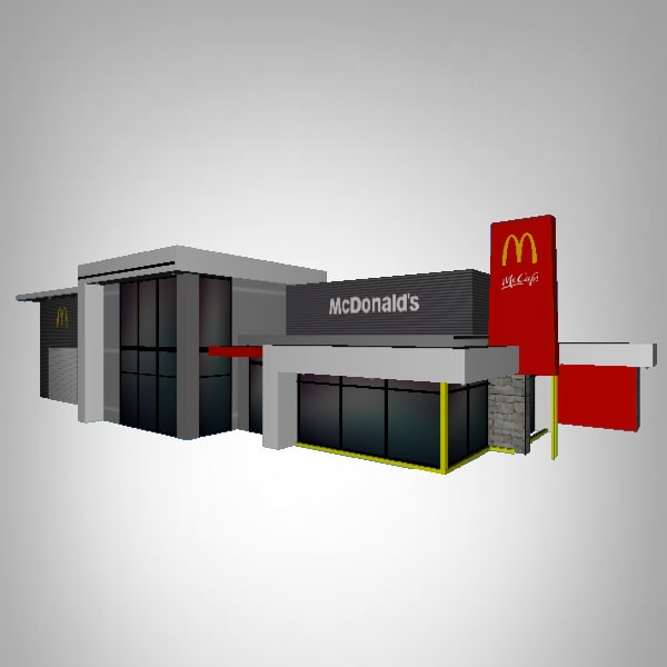mcdonald s obj free