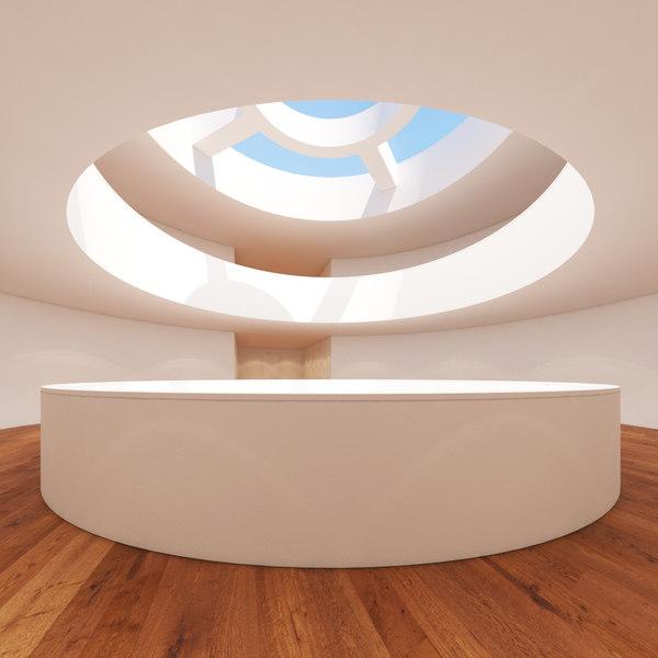art gallery 3 3d max
