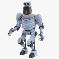 robot v3 3d model