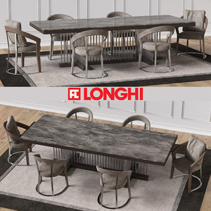 fratelli schubert marble table 3d model