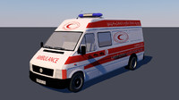 ambulance palestine 3d 3ds