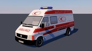 ambulance palestine 3d 3ds