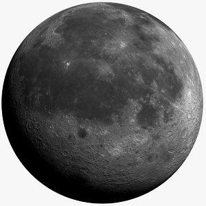 moon 10k 3d model