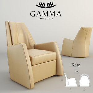 3d gamma kate model