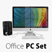 2 apple office pc 3ds