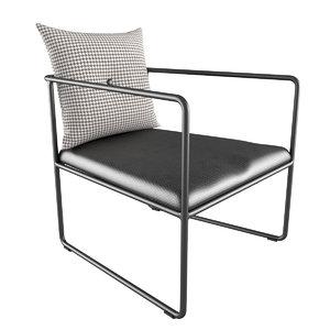 chair morris easy 3d 3ds