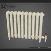 3d model radiator old