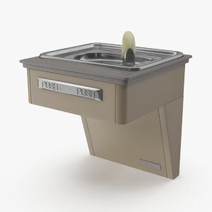3d drinking fountain 01