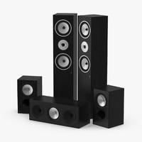 speaker 1 3d max