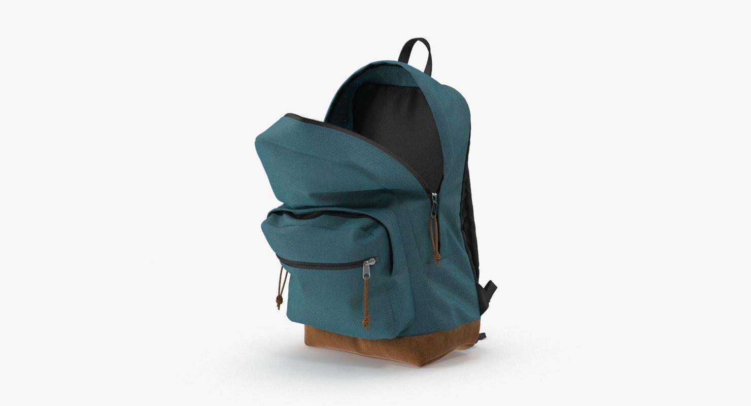 3d teen backpack