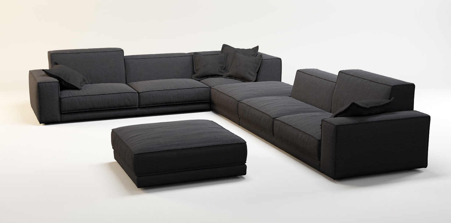 3d sofa ditre buble model