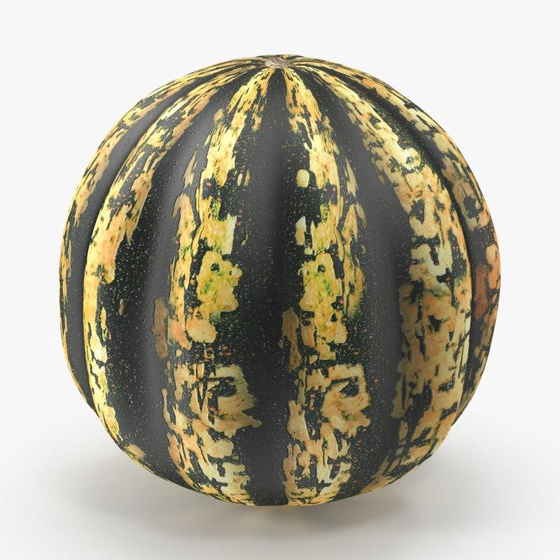 3d gourd real model