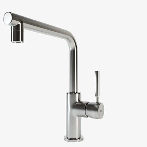 teka kitchen faucet 3d max