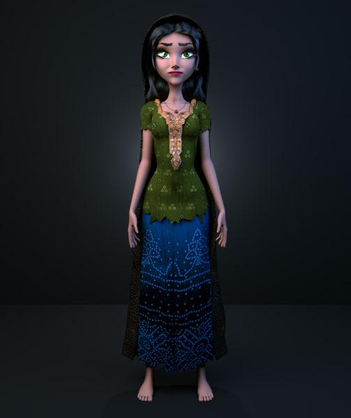 3ds asian girl