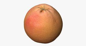 lwo grapefruit photogrammetry