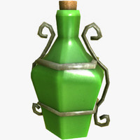 magic potion 3d model