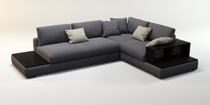 3d corner sofa ditre italia