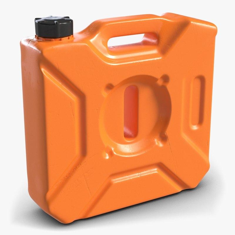 plastic gallon jerry 3d model