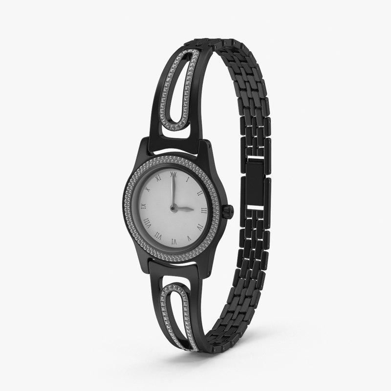 womens dress watch 3d max