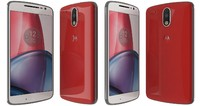 motorola moto g4 red 3d 3ds