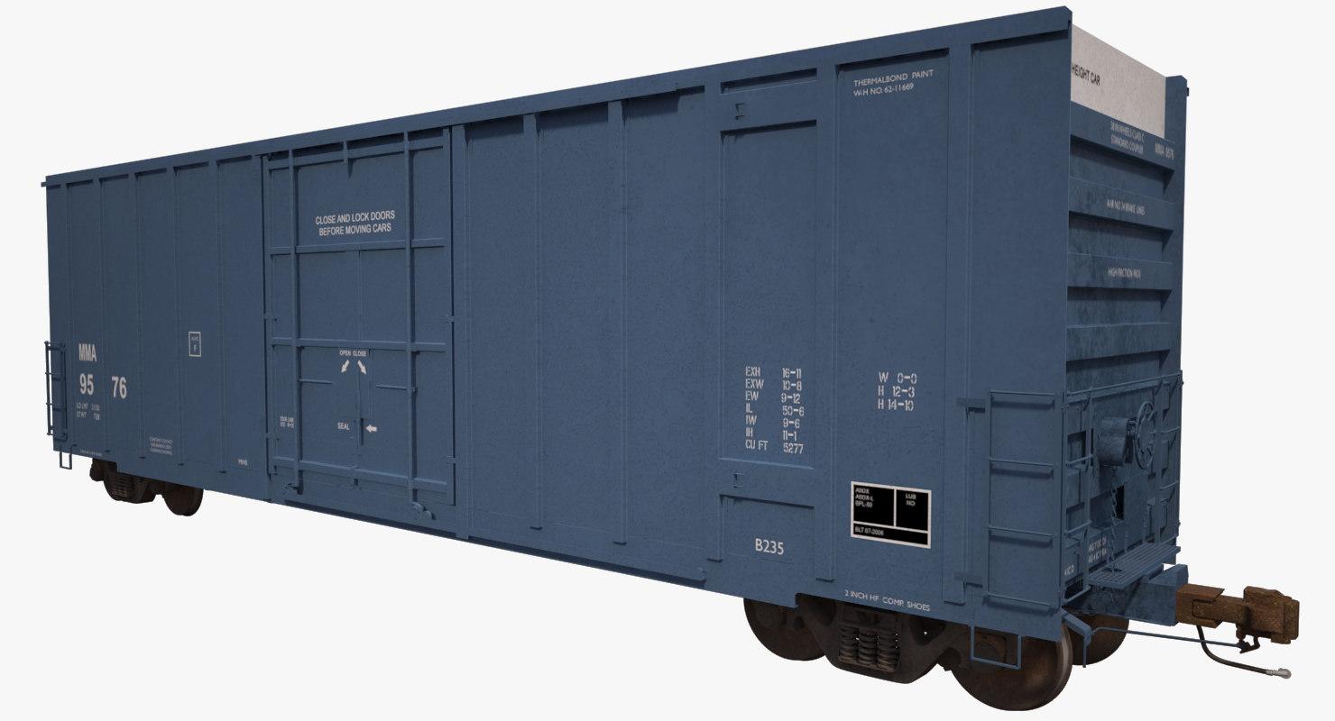 a405 boxcar rails cargo max