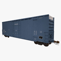 Railroad Boxcar 50ft MMA