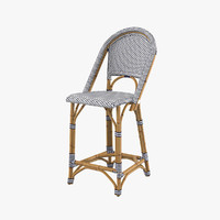 3d riviera counter stool