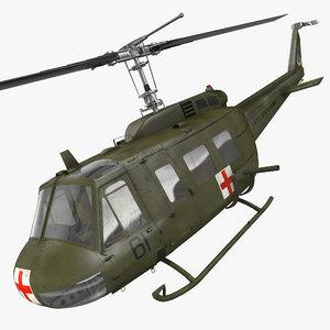 bell uh-1 iroquois medevac max