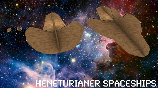 heneturianer spaceships ship 3d 3ds